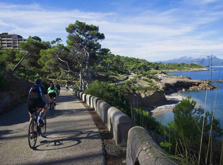 rutas ciclistas pollensa
